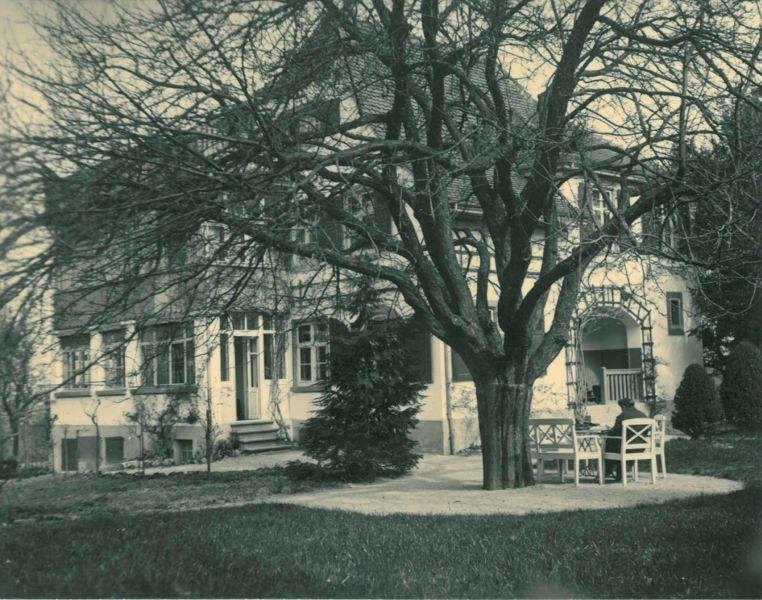 Klinik-1921-mit-Baum